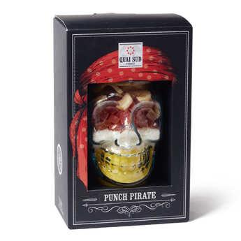 Quai Sud - Mélange Punch Pirate en coffret - papaye, coco, ananas