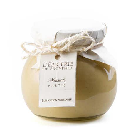 Epicerie de Provence - Moutarde au Pastis