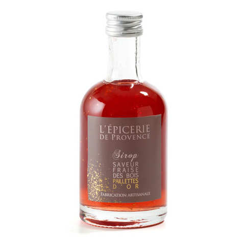 Epicerie de Provence - Wild Strawberry Syrup With Glitter