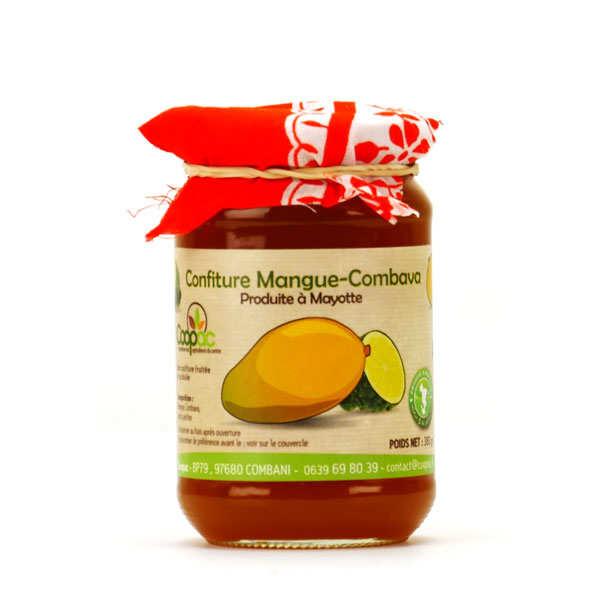 Confiture de mangue et combava de Mayotte