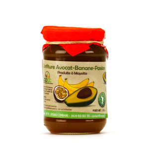 Coopac - Avocado, Banana and Passion Jam from Mayotte