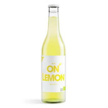 On Lemon - Limonade pomme coing bio - On Lemon