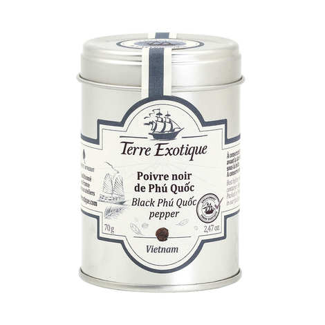 Terre Exotique - Black Phu Quoc Pepper from Vietnam