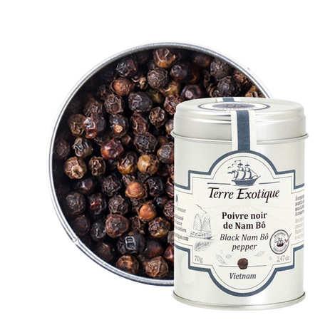 Terre Exotique - Black Nam Bô Pepper From Vietnam