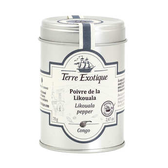 "Terre Exotique - Pepper ""la Likouala"" from Congo"