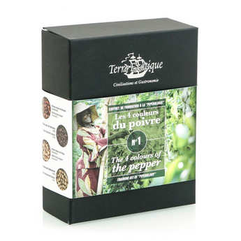 Terre Exotique - Discovery Box - 4 colors of peppers