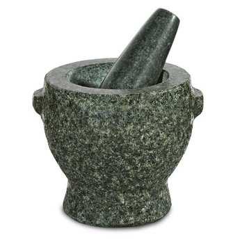 "Zassenhaus - Mortier pilon en granit ""Plutos"""