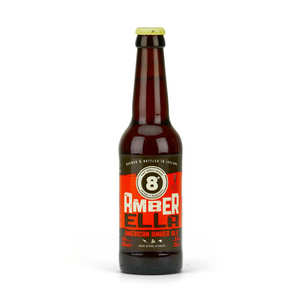 Eight Degrees Brewing - Bière 8° Amber Ella 5.8% - American Amber Ale d'Irlande