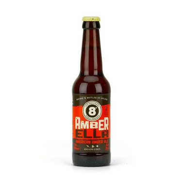 Bière 8° Amber Ella 5.8% - American Amber Ale d'Irlande