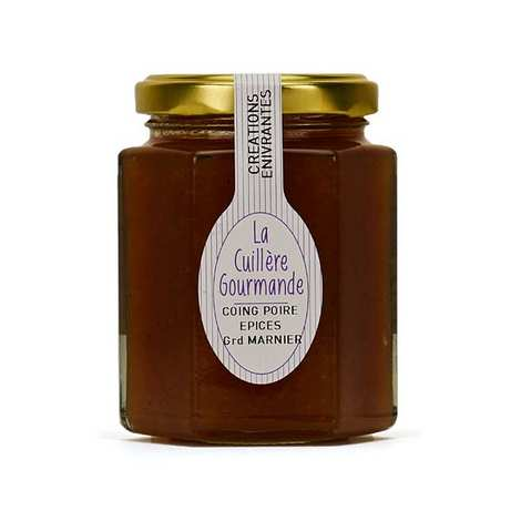 La Cuillère Gourmande - Quince Pear Spices And Grand Marnier Jam