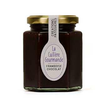 La Cuillère Gourmande - Gourmandise framboise et chocolat