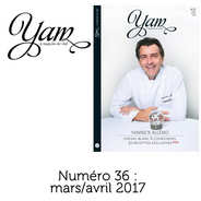 Yannick Alléno Magazine - French magazine about cuisine - YAM n°36