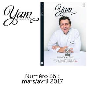 Yannick Alléno Magazine - YAM n°36