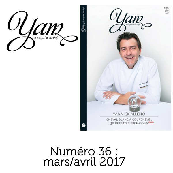 French magazine about cuisine - YAM n°36