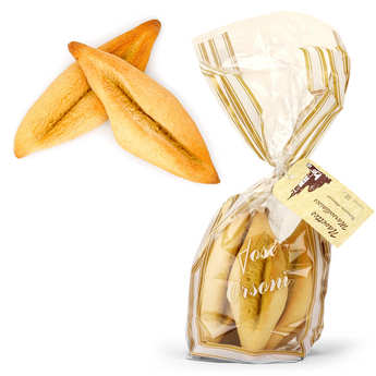 José Orsoni - French Biscuits With Orange Blossom 'Navette marseillaise'