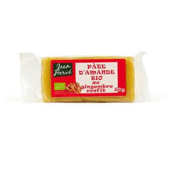 Jean Hervé - Pâte d'amande au gingembre confit - bio