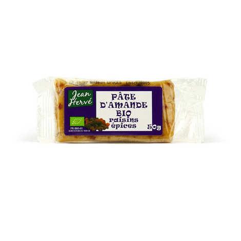 Jean Hervé - Pâte d'amande aux raisins et aux épices - bio