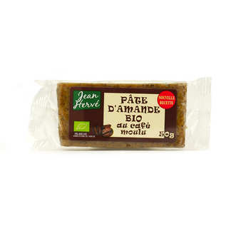 Jean Hervé - Organic Almond Paste With Ground Coffee