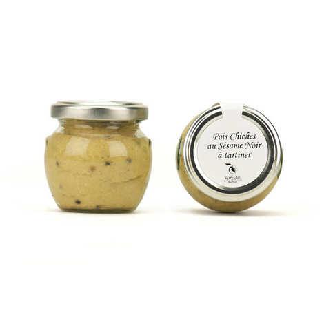 Artisan du fruit - Chickpeas And Black Sesame Cream To Spread