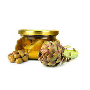 Artisan du fruit - Artichokes And Green Olive In A Spicy Marinade