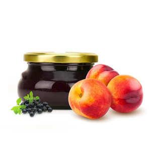 Artisan du fruit - Nectarine And Blackcurrant Jam