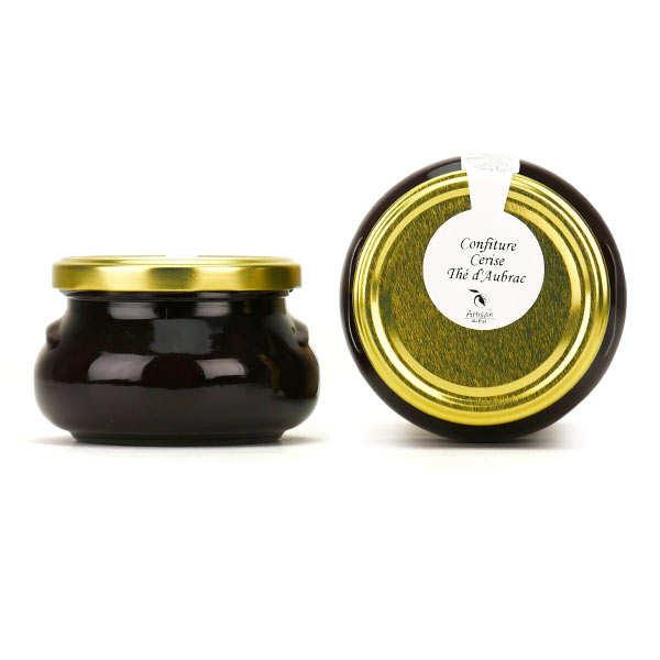 Confiture cerise et thé d'Aubrac (calament)