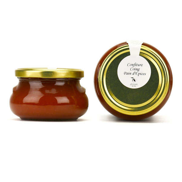 """Quince And """"Gingerbread"""" Jam"""