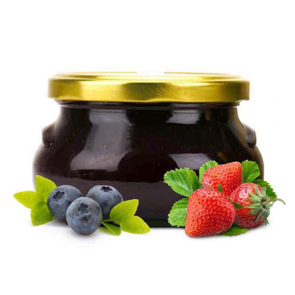 Confiture fraise myrtille