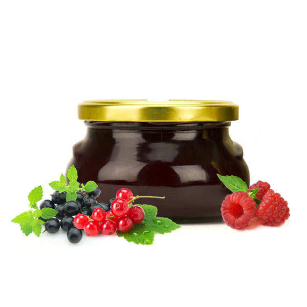 Redcurrent, Raspberry And Blackcurrent Jam