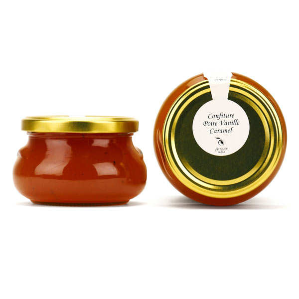 Pear, Vanilla And Caramel Jam