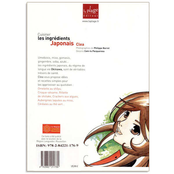 Cuisiner les ingr dients japonais livre de clea for La cuisine de clea