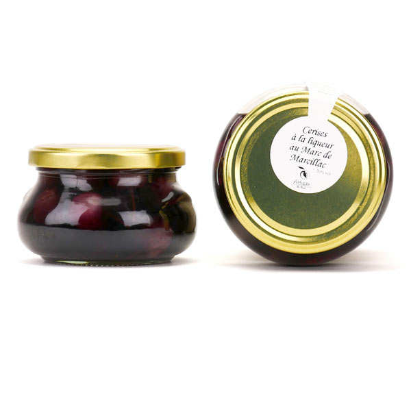 Cherries With Liqueur