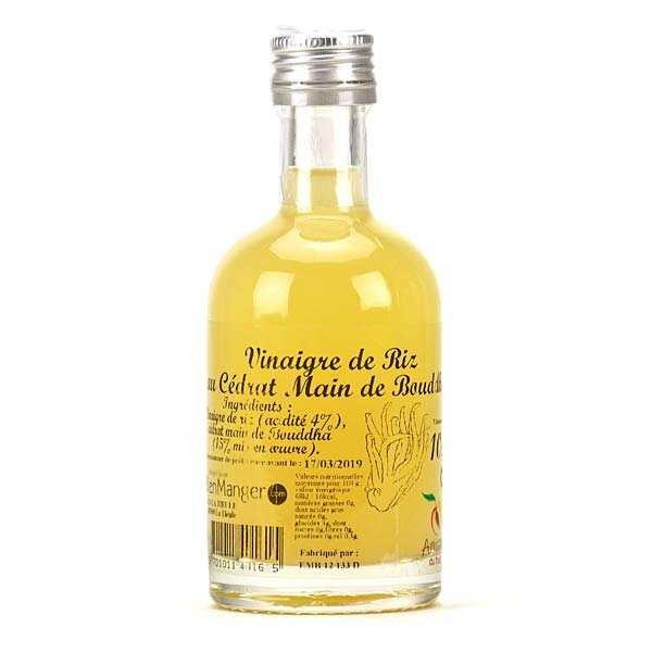 Rice Vinegar Of 'Main De Bouddha' Citron