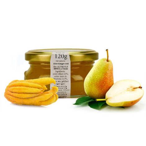 Artisan du fruit - Pear and 'Main De Bouddha' Citron Jam