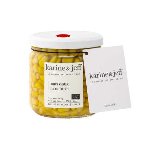 Karine & Jeff - Organic And Natural Sweetcorn