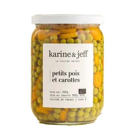 Karine & Jeff - Petits pois et carottes bio