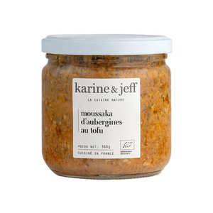 Karine & Jeff - Moussaka d'aubergines au tofu bio