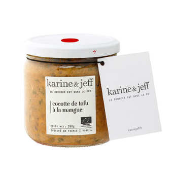 Karine & Jeff - Organic Tofu With Mango Dish