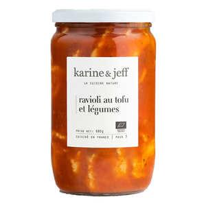 Karine & Jeff - Ravioli au tofu et légumes bio