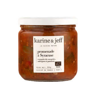 Karine & Jeff - Organic Sicilian Style Ratatouille - Promenade à Syracuse