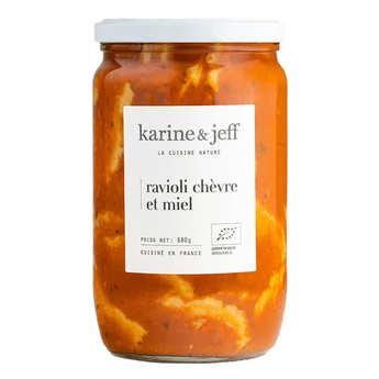 Karine & Jeff - Ravioli chèvre et miel bio