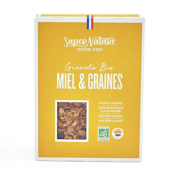 Granola au miel et aux graines bio