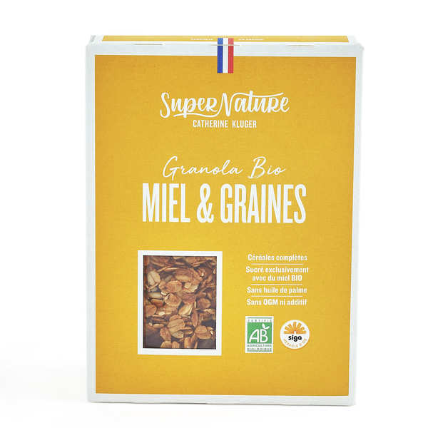 Organic Honey And Seeds Granola