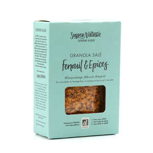 Granola Catherine Kluger - Organic And Salty Granola With Fennel And Spices