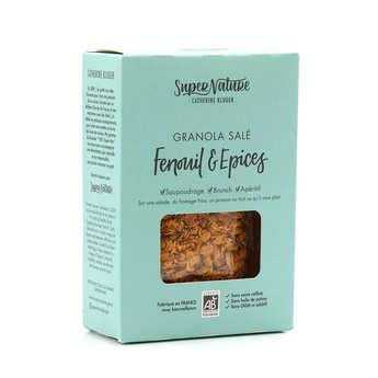 Granola Catherine Kluger - Granola salé au fenouil et aux épices bio