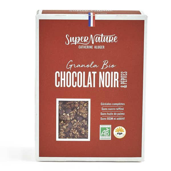 Granola au chocolat cuit et cru bio
