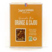 Granola à l'orange et à la noix de cajou bio