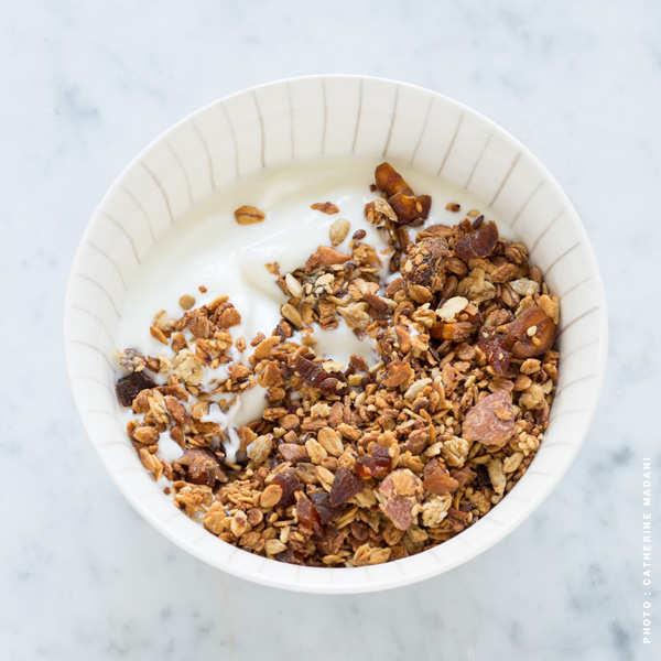 Granola à l'orange et à l'abricot bio