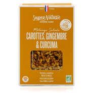 Granola aux carottes, gingembre et curcuma bio