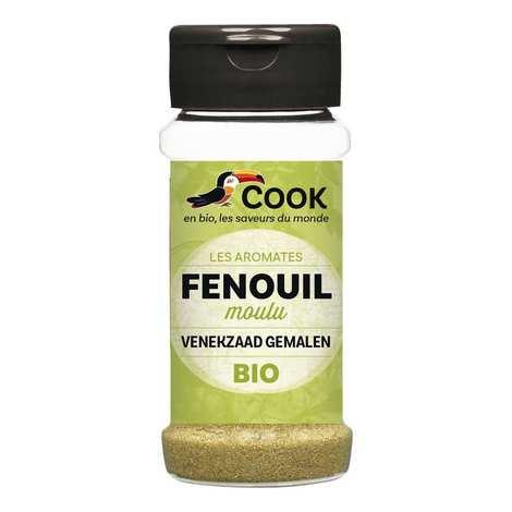 Cook - Herbier de France - Fenouil poudre bio